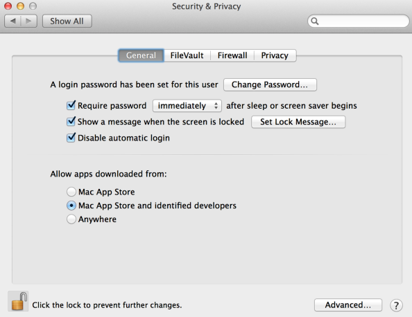 Mac OS X Security & Privacy
